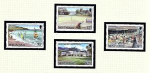 Montserrat 639-42 MNH 1986 Tourism