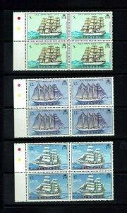 Bermuda: 1976, Tall Ships Race,  in blocks of 4,  Mint