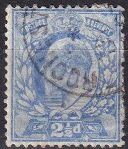 Great Britain #131  F-VF Used CV $11.50 (SU7862)