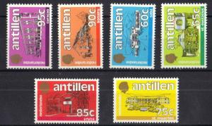 Netherlands Antilles 1984 MNH standaardserie 6 stamps issued