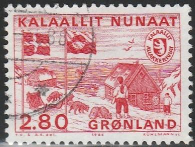 Greenland, #164 Used From 1986
