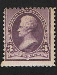 Scott #221 Average-OG-NH. SCV - $175.00