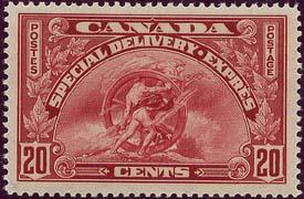 Canada - 1935 20c Special Delivery VF-NH #E6
