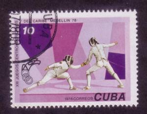 Cuba Sc. # 2199 CTO Fencing