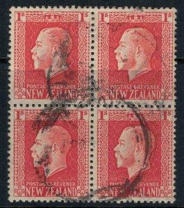 New Zealand #159 Block of 4 CV $2.40