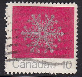 Canada 556 Hinged Used 1971 Snowflakes