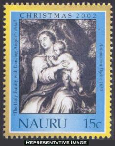 Nauru Scott 510 Mint never hinged.