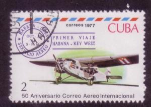 Cuba Sc. # 2161 CTO Airplanes