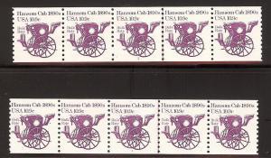 Scott #1904 10.9c Hansom Cab Unused, Original Gum, Never ...