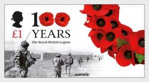 2021 Guernsey Royal British Legion III (Scott NA) MNH