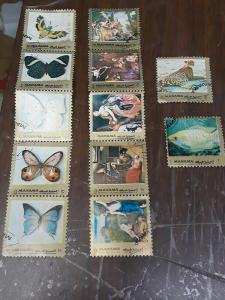 Manama Stamp Used Lot 2