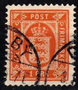 Denmark #O11 F-VF Used CV $3.25 (X9646)
