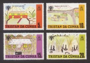 Tristan da Cunha Sc# 264-7 MNH IYC