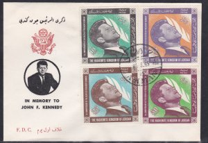 Jordan # 506-509, John F. Kennedy Memorial First Day Cover