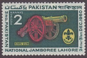 Pakistan 121 Kim's Gun 1960