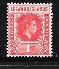 Leeward Islands #105  1p ( MH) CV $1.25