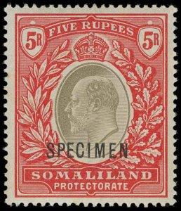 Somaliland Protectorate Scott 27-39 Gibbons 32-44 Specimen Set of Stamps