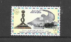BIRDS - QATAR #941  MNH