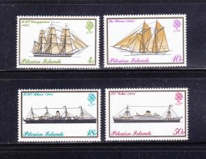 Pitcairn Islands 147-150 Set MNH Ships (B)