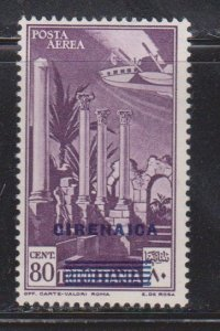 CIRENAICA Scott # C5 MH - Stamp Of Italy With Overprint