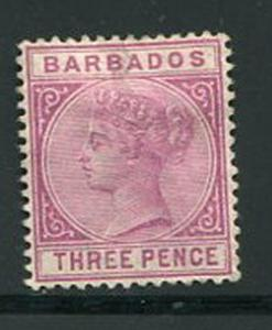 Barbados #63a Used