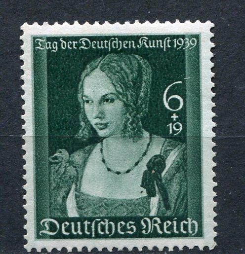 Germany 1939 Mi 700 Sc B146 Venetian Women by Durer MH 3699