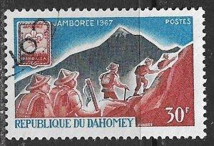 Dahomey ~ Scott #  239 ~ Used ~ Scouts Jamboree