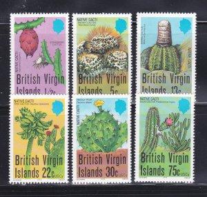 Virgin Islands 350-355 Set MNH Cacti