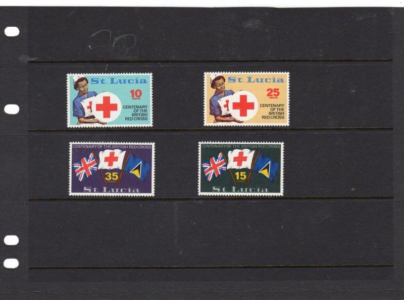 St Lucia 1970 Cent of Red Cross MNH