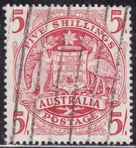 Australia 218 USED 1949 Arms of Australia