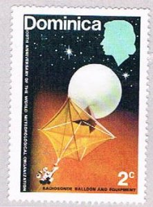 Dominica Space 2c - pickastamp (AP104005)