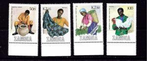 Zambia 444-47 MNH 1988 Trade Fair