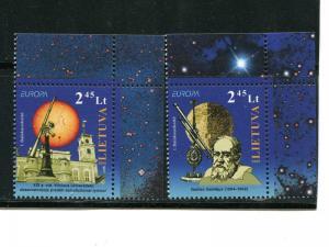 Lithuania  set 2009  Mint VF NH