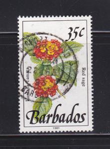 Barbados 758A U Flowers