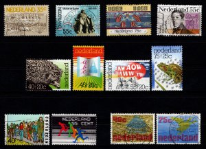 Netherlands 1976 Various Issue Sets [Used]