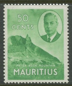 STAMP STATION PERTH Mauritius #245 KGVI Definitive Issue MVLH