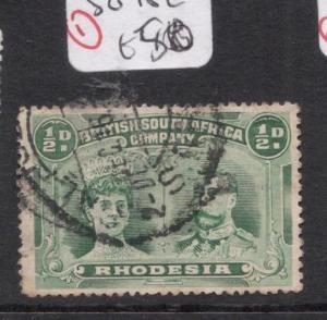 Rhodesia Double Head SG 182 Copy 1 VFU (5ddl)