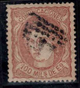 SPAIN Scott 167 Used