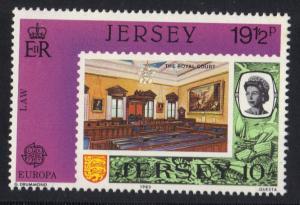 Jersey  1983  MNH  Europa  19 1/2 p     #