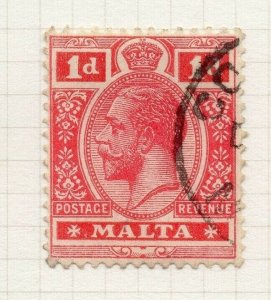 Malta 1914-22 Early Issue Fine Used 1d. 321506