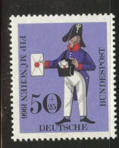 Germany  Scott B417 MNH** 1966 Prussian letter carrier