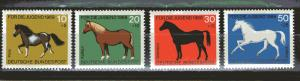 Germany B442-B445 MNH