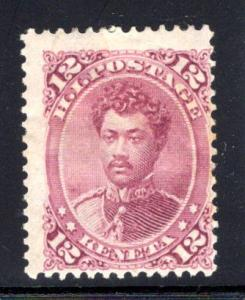Hawaii #46, mint hinged, CV $90.00