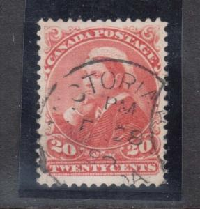 Canada #46 VF Used With Victoria BC CDS Cancel