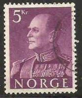 Norway Used Sc 373 - King Olav V