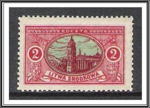 Central Lithuania #36 (v) Cathedral MNH