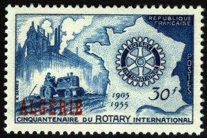 Algeria #264  MNH - Rotary International (1955)
