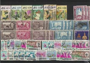 asia malaysia malaya stamps ref r10730