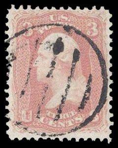 U.S. 1861-66 ISSUES 64b  Used (ID # 90626)