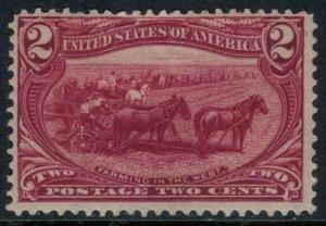 U.S. #286*  CV $25.00